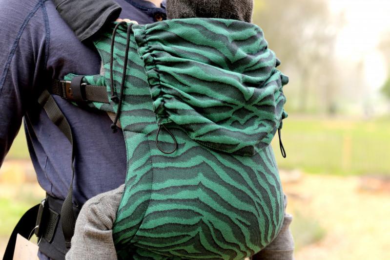 Yaro Flex Rückenteil - Tiger Black Green Toddler