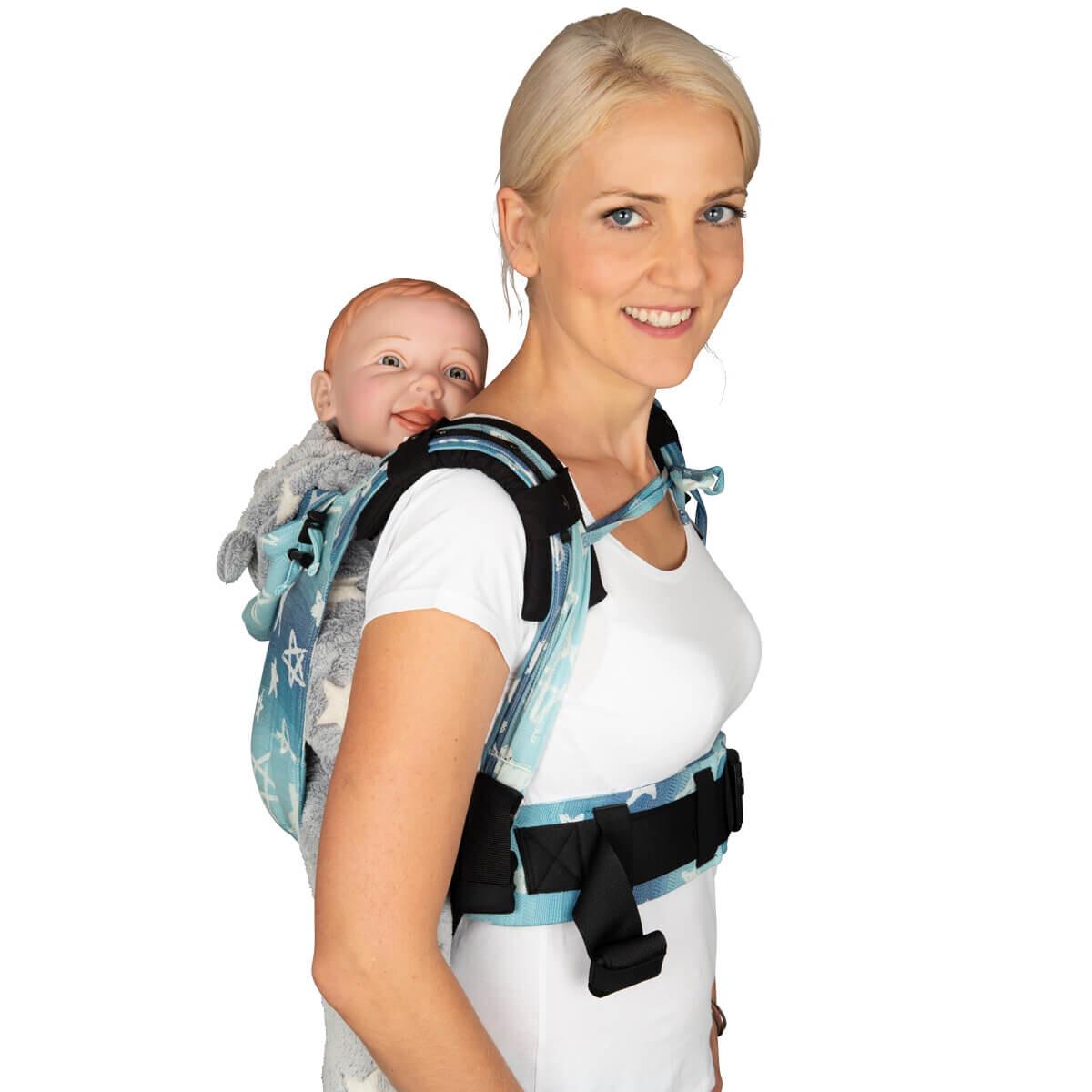 Babytrage Primeo Schulter Pad schwarz