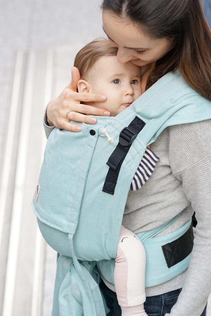 Limas Plus Babytrage Türkis