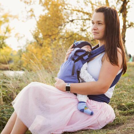 Babycarrier - Flieder