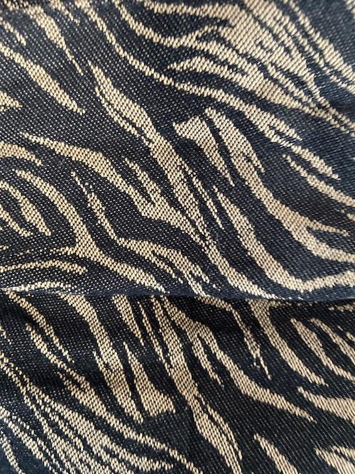 Zebra Gold & Black