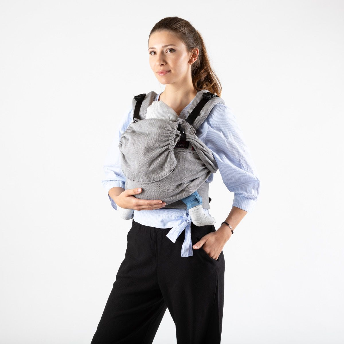 Easy Emeibaby Babytrage Toddler Size -  Full grau