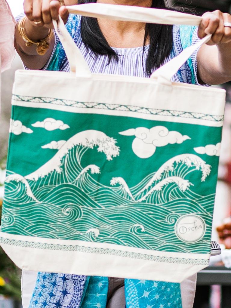 Oscha -  Okinami Eco Tote Bag