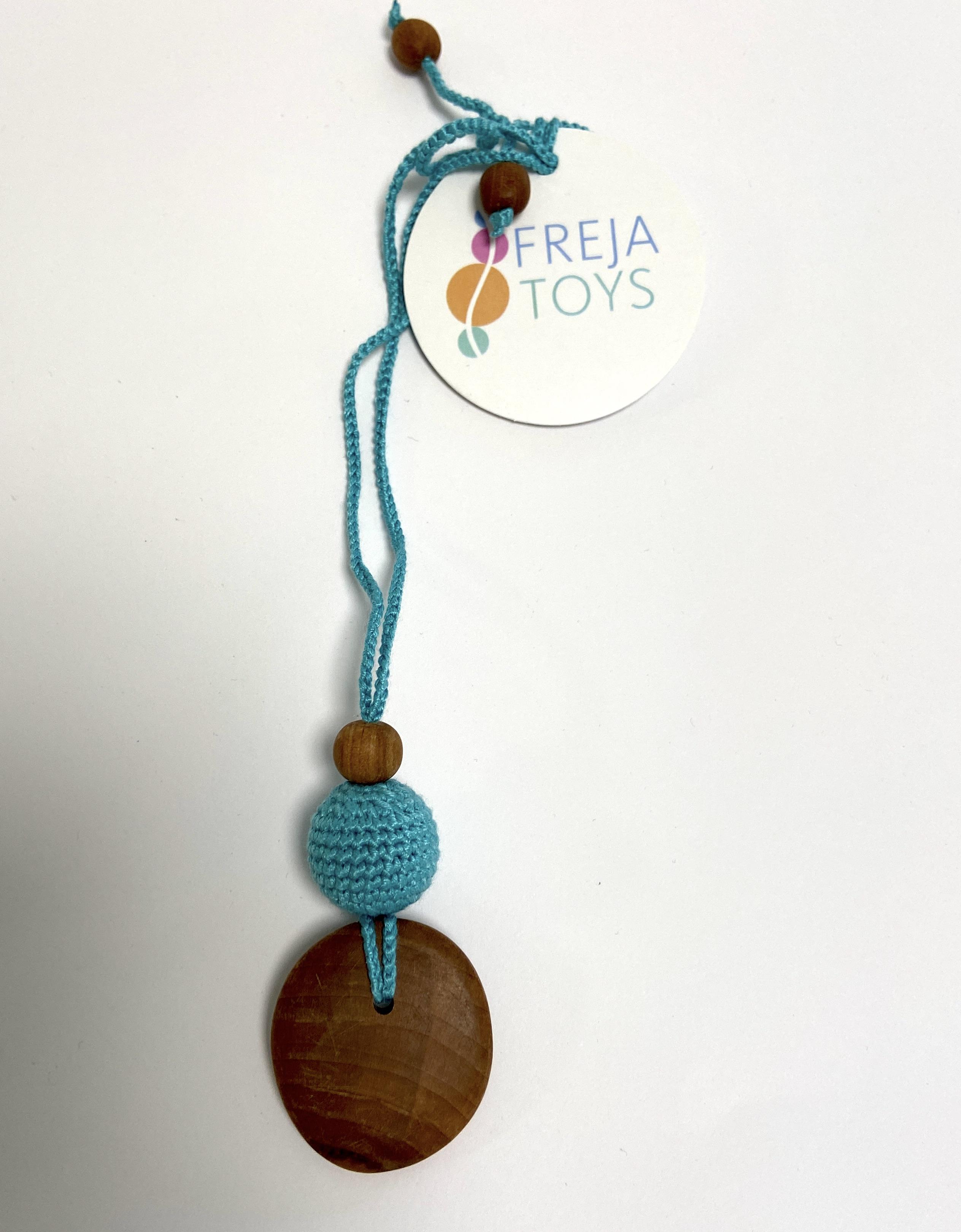 Freja Toys - Still- und Babywearing Halskette - Türkis