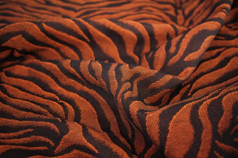 Yaro Flex Rückenteil - Tiger Black Orange Baby
