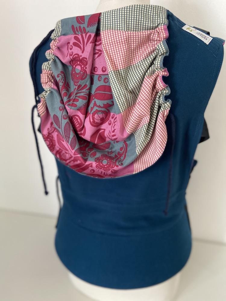 Mr X Fullbuckle - Pink-blau Anna