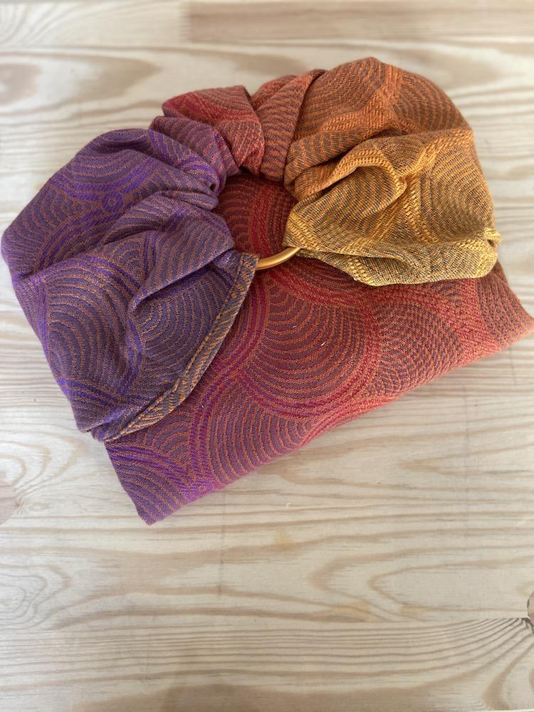 Yaro Ringsling - Gravity Duo Fire Grad Mocca Bronze Wool