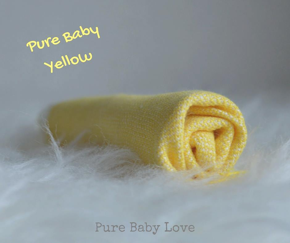 Pure Baby Love - Tragetuch - Yellow