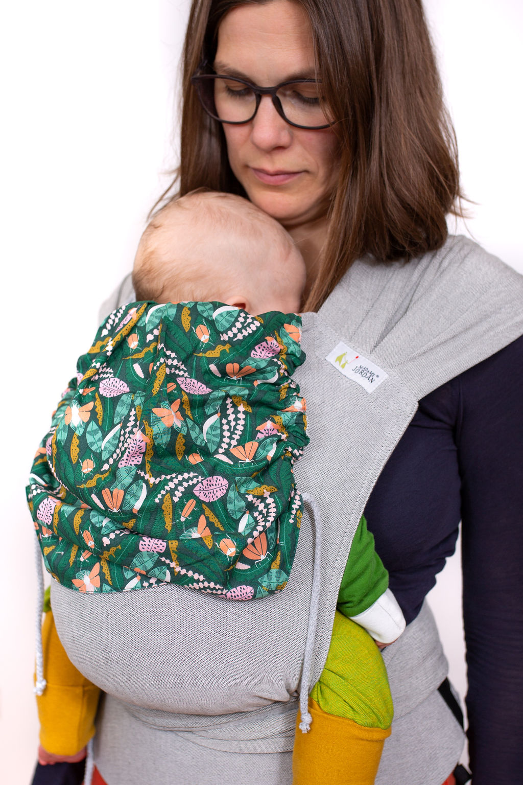 Wrap Conversion Mei Tai Halfbuckle  Gr. 1 ab Geburt  - Schmetterlingswiese