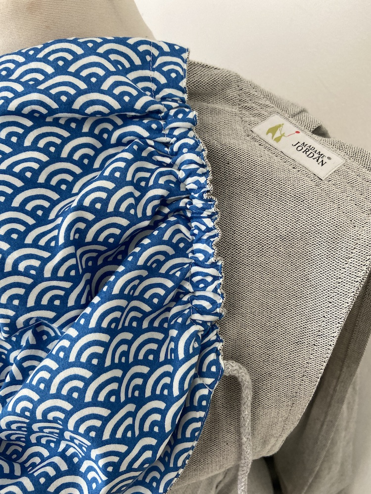 Wrap Conversion Mei Tai Halfbuckle - Blaues Wunder