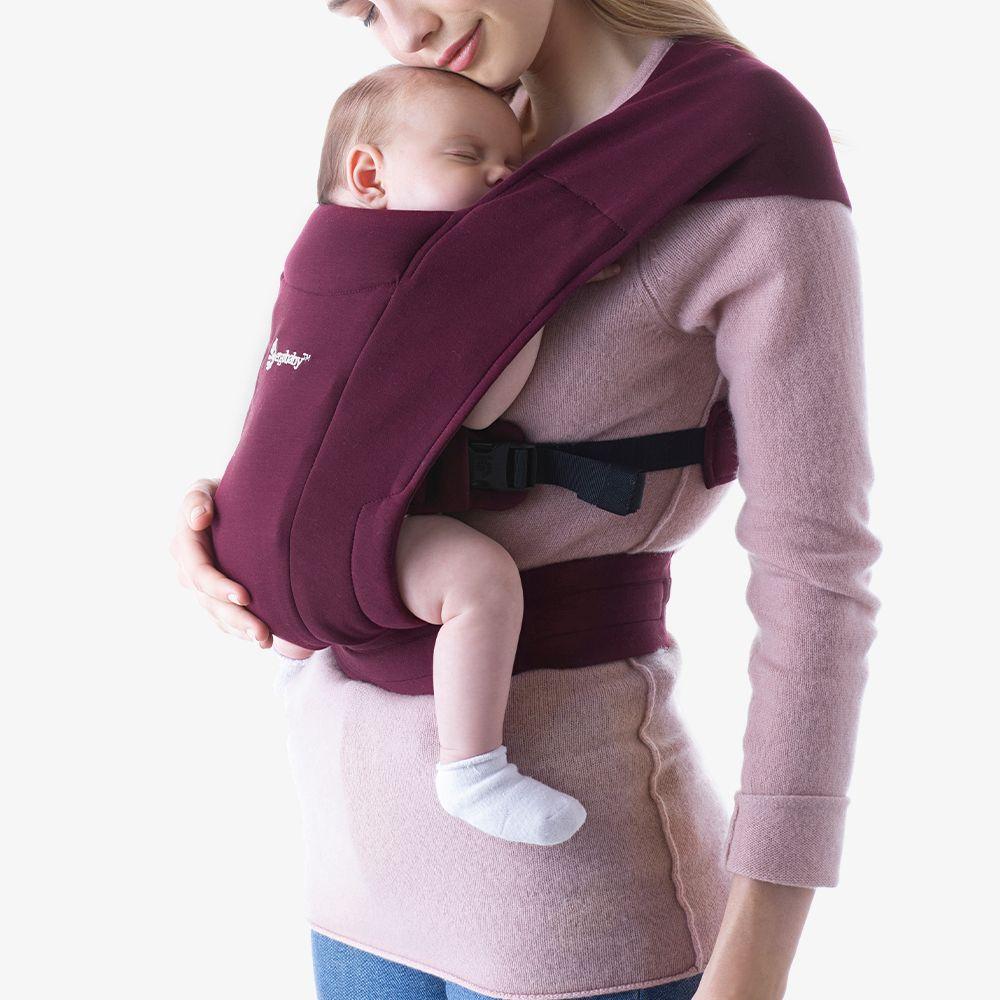 Ergobaby Embrace Babytrage für Neugeborene ab Geburt